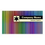 Borde etiquetado - espectro tarjetas de visita