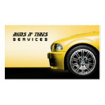 Bordea la tarjeta del negocio automovilístico de tarjetas de visita
