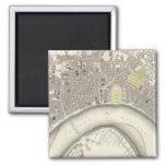 Bordeaux 2 Inch Square Magnet