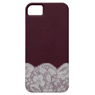 Bordeaux and Lace iPhone SE/5/5s Case