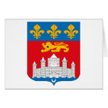 Bordeaux Coat of Arms Greeting Card
