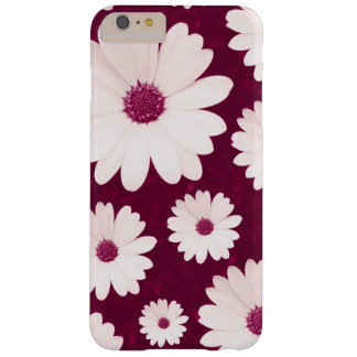 Bordeaux daisies barely there iPhone 6 plus case