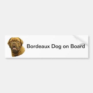 Bordeaux Dog Bumper Sticker