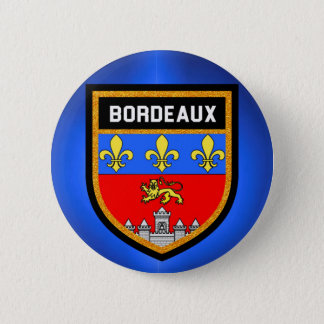 Bordeaux Flag Pinback Button