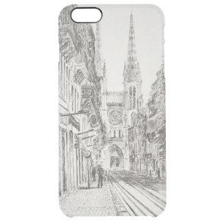 Bordeaux France. Twin spire.2010 Clear iPhone 6 Plus Case