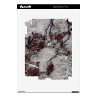 Bordeaux Grisso Decorative Stone - Rugged Beauty iPad 2 Skin