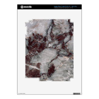 Bordeaux Grisso Decorative Stone - Rugged Beauty iPad 3 Decal