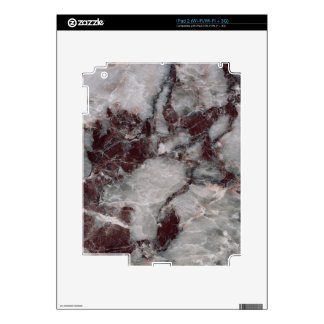 Bordeaux Grisso Stone Pattern Background Decal For iPad 2