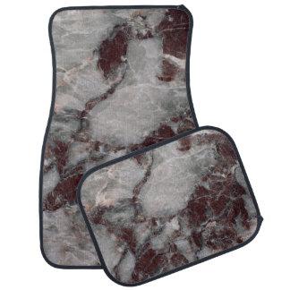 Bordeaux Grisso Stone Pattern Background - Rugged Car Mat