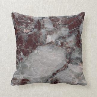 Bordeaux Grisso Throw Pillow