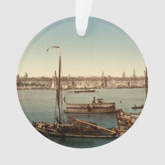 Bordeaux Harbor II, Aquitaine, France Ornament