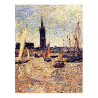 Bordeaux Harbour by Paul Gauguin Postcard