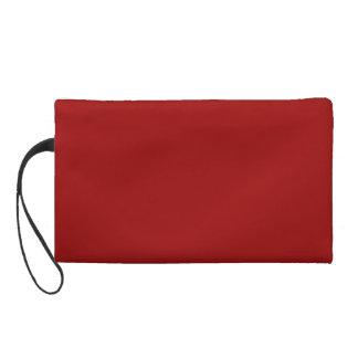 Bordeaux Red Berry Bagettes Bag Wristlet Clutches