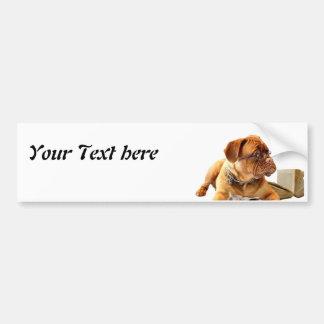 Bordeauxdog Bumper Sticker