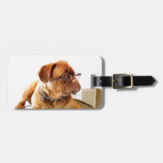 Bordeauxdog Luggage Tag