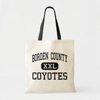 Borden County - Coyotes - High School - Gail Texas Tote Bag
