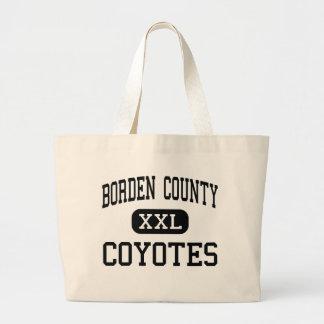 Borden County - Coyotes - High School - Gail Texas Bag