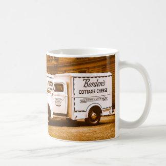 Borden's Cottage Cheese Truck Fleet Coffee Mug