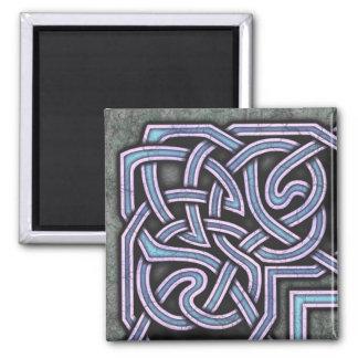 Border B, Blue Corner Magnet