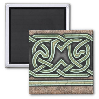 Border B, Green Straight Magnet