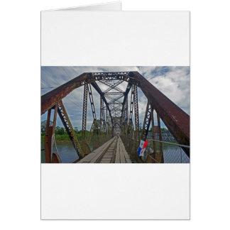 border brigde card
