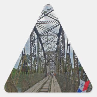 border brigde triangle sticker