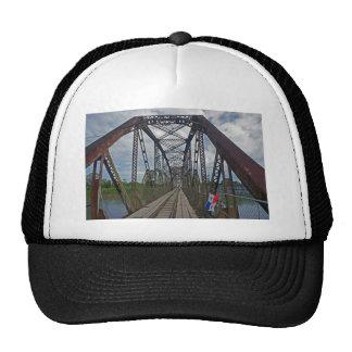 border brigde trucker hat