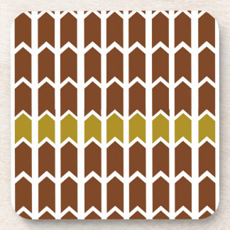 Border Brown Panel Fence Coaster