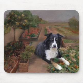 Border Collie 2 Mouse Pads