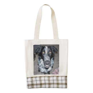 border collie 2.png zazzle HEART tote bag