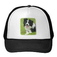 Border Collie 9A014D-25 Trucker Hats