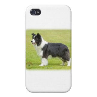 Border Collie 9R071D-059 Case For iPhone 4