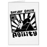 Border Collie Agility A-Frame Cards