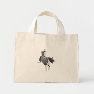 Border Collie Agility Dog Canine Tiny Tote