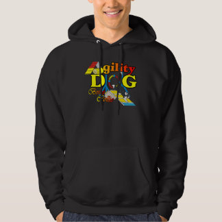 Border Collie Agility Gifts Hoodie