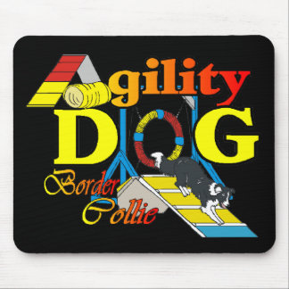 Border Collie Agility Gifts Mouse Pad