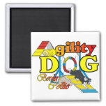 Border Collie Agility Gifts Refrigerator Magnet