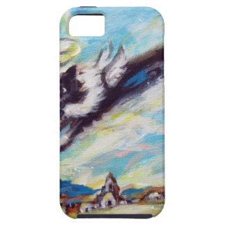 Border Collie angel flies free iPhone SE/5/5s Case