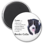 Border Collie Art Gifts Refrigerator Magnets