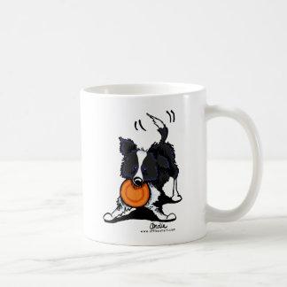 Border Collie at Play Coffee Mug