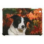 Border Collie Autumn Headshot iPad Mini Case