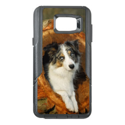 OtterBox Commuter Samsung Note 5 Case with Collie Phone Cases design