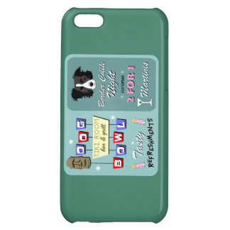 Border Collie Bowling Cover For iPhone 5C