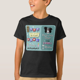 Border Collie Bowling T-Shirt