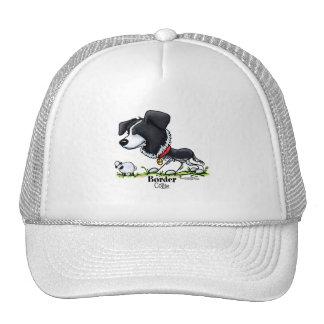 Border Collie Cartoon Hats