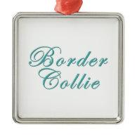 Border Collie Christmas Ornaments