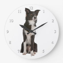 Border Collie Clock