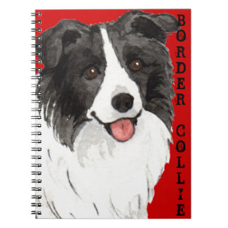 Border Collie Color Block Notebook