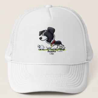 Border Collie - Color Trucker Hat