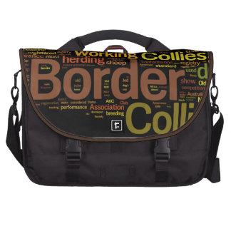 Border Collie Commuter Bag